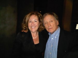 NY Lunch with Dick Cavett